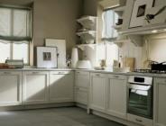 Esempio cucina classica ad angolo