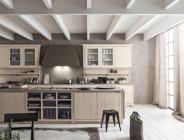 Cucina con isola classica/contemporanea