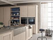 Cucina con anta telaio contemporanea classica