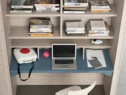 scrivania per cameretta bianca