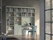 libreria per cameretta bianca