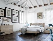 Camera da letto matrimoniale in vero legno