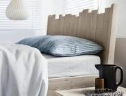 Particolare del letto Barrique