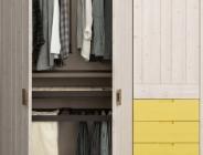 Particolare interno armadio