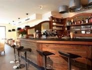 Banco bar in legno massello