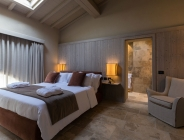 Camera in legno di abete
