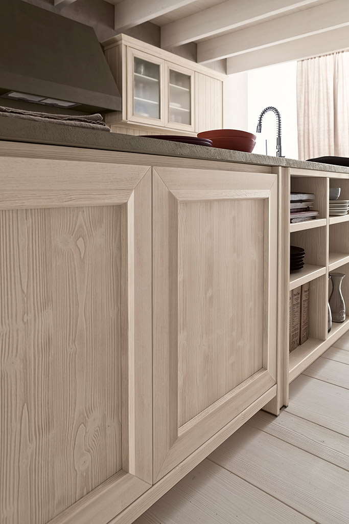 Ante cucina legno cucina rustica in castagno savona legno - Ante cucina legno ...