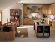 Cucina in legno rustica