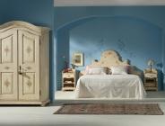 Camera da letto stile tirolese