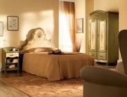 Camera da letto dipinta