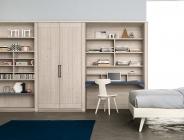 Doppia libreria e armadio
