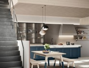Cucina contemporanea classica legno