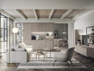 Zona living in legno
