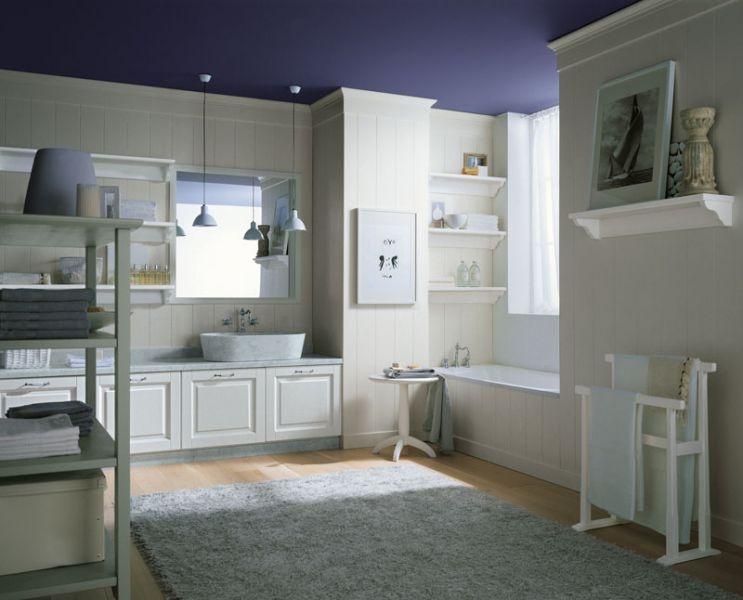 arredamento classico per bagno - Boiserie Bagno Classico