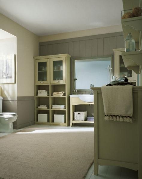 Bagno arredato in legno arcanda di scandola mobili - Nuovo arredo mobili bagno ...