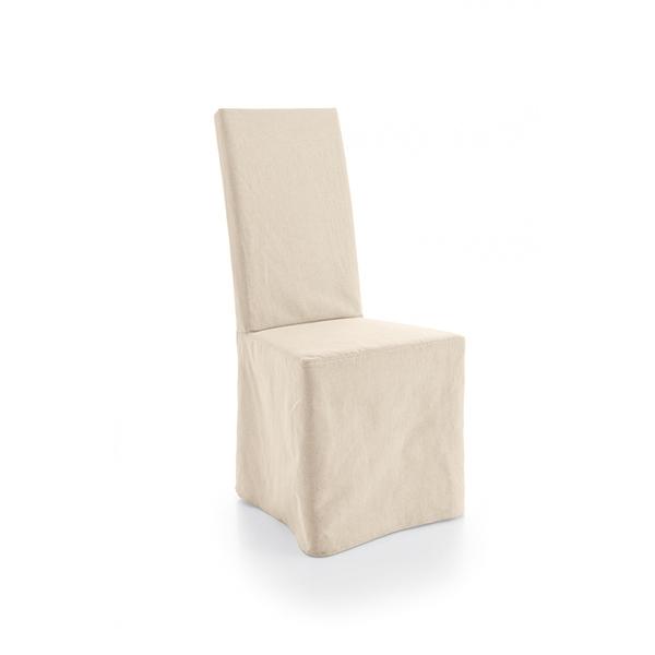 Sedia in tessuto vestita with sedie vestite for Coprisedia bianco ikea