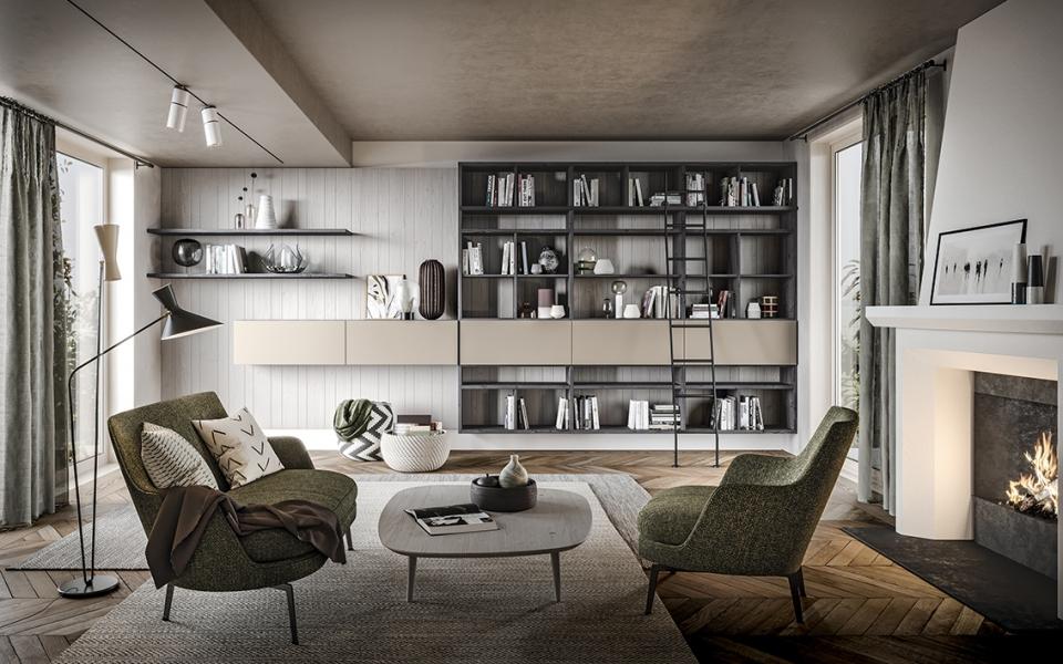 Arredamento soggiorno classico | I consigli di Scandola