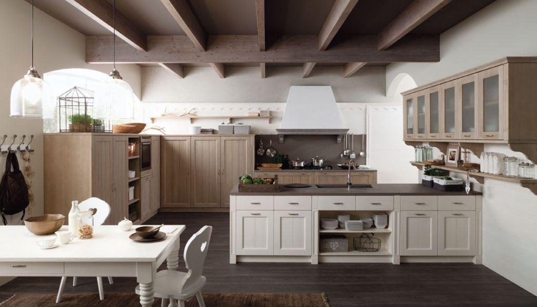 Cucine Su Una Sola Parete. Cucina Idee Cucine Moderne Legno With ...