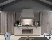 cucina in legno massiccio