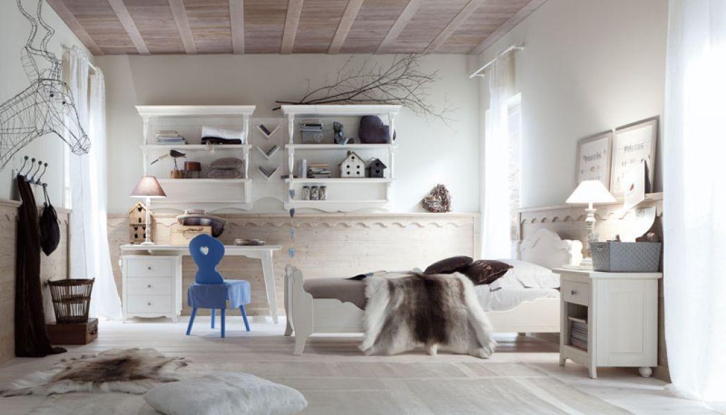 Camere Da Letto Stile Country Prezzi : Camerette classiche scandola mobili