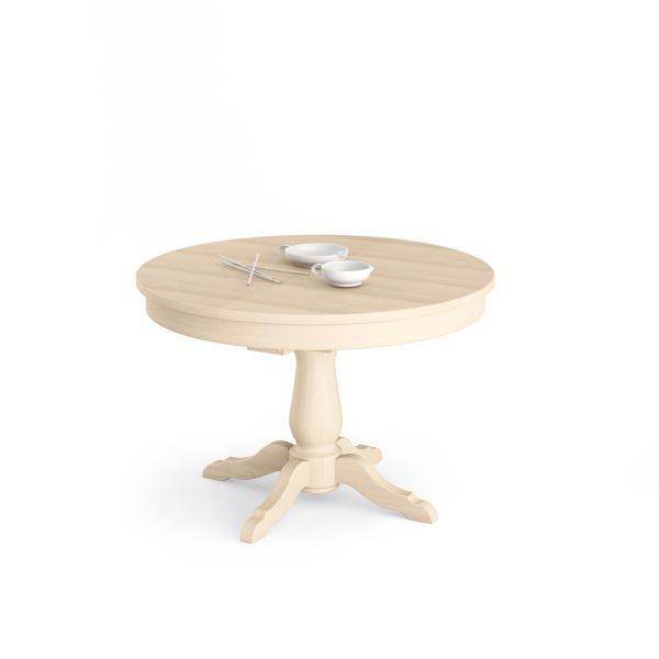 Tavoli in legno allungabili for Tavolo pranzo rotondo allungabile