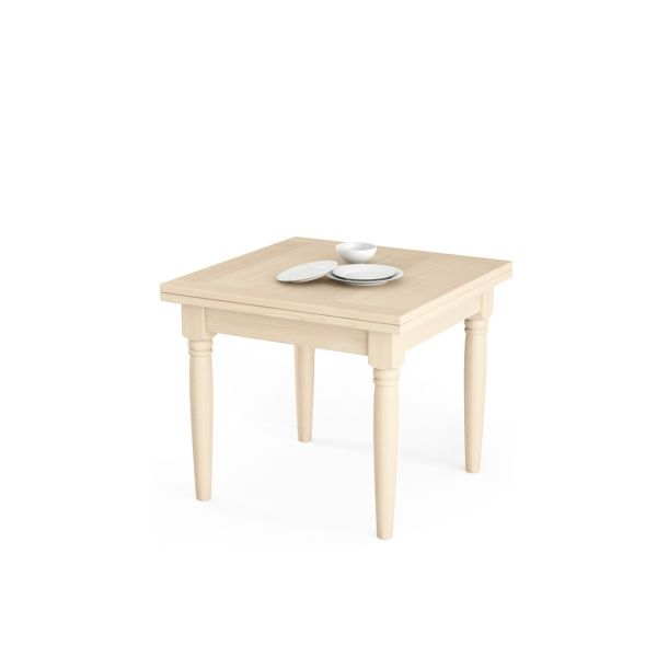 Tavoli in legno allungabili for Tavoli rettangolari allungabili in legno