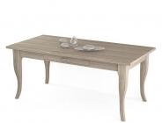 tavolo a sciabola in vero legno