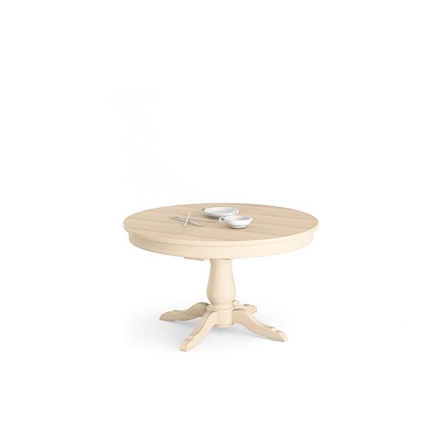 tavoli in vero legno | scandola mobili - Tavoli Rotondi Allungabili Bianchi