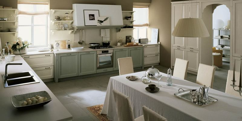 Cucine neoclassiche