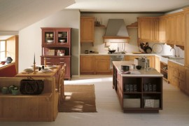Classic N2 kitchen in spruce