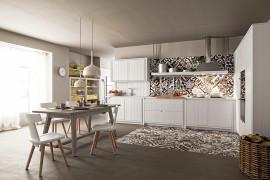 Cucina bianca Maestrale M04