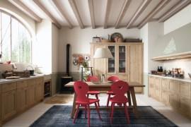 Tabià T02 rural-style kitchen