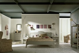 Arcanda N04 master bedroom in authentic solid wood