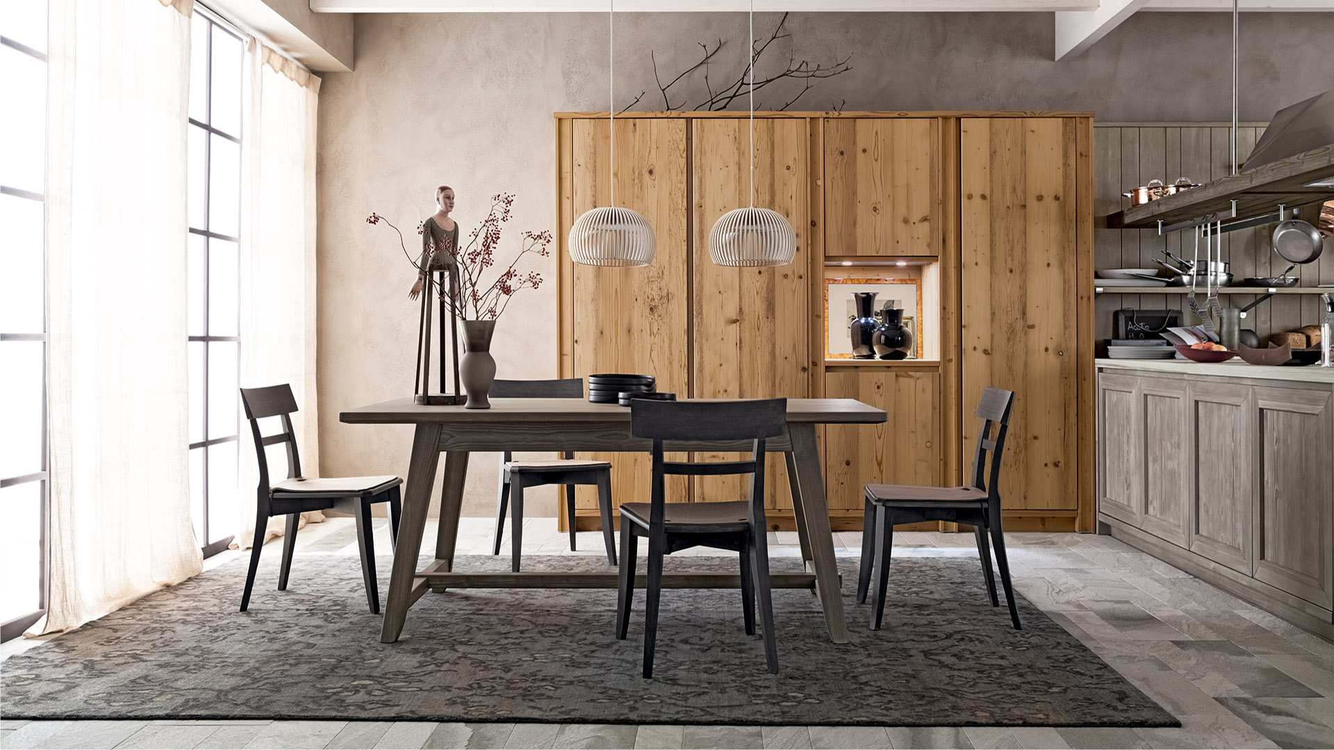 Scandola Mobili: furniture made of genuine wood