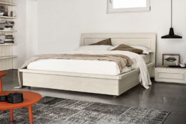 Maestrale bedroom with storage bed M02