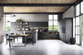 Industrial-Style Maestrale M05 Kitchen