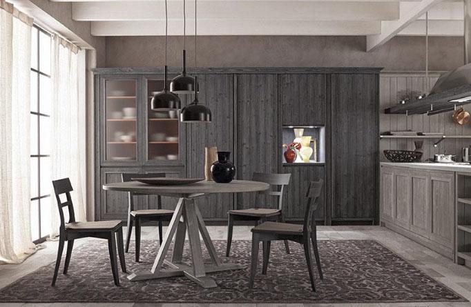 Tavolo per la cucina in legno
