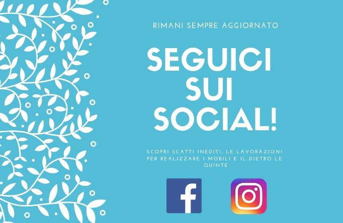 segui i nostri profili social