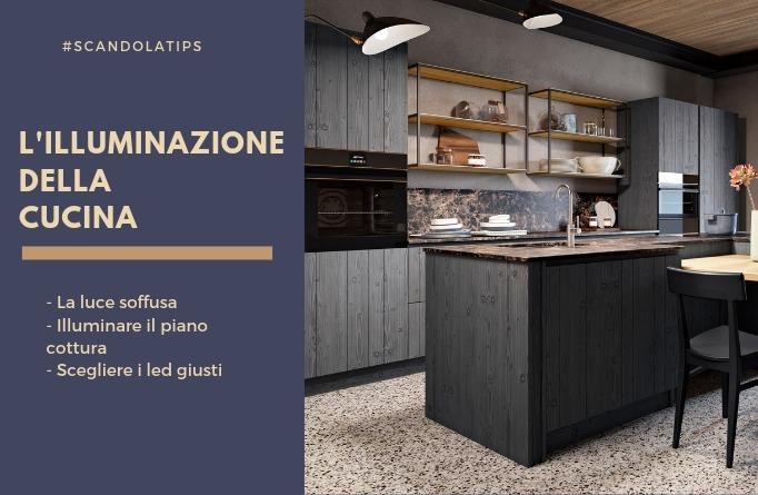 Faretti Cucina Incasso.Come Illuminare La Cucina Con Faretti E Profili Incasso Led