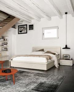 Arredamento zona notte: la camera matrimoniale in legno