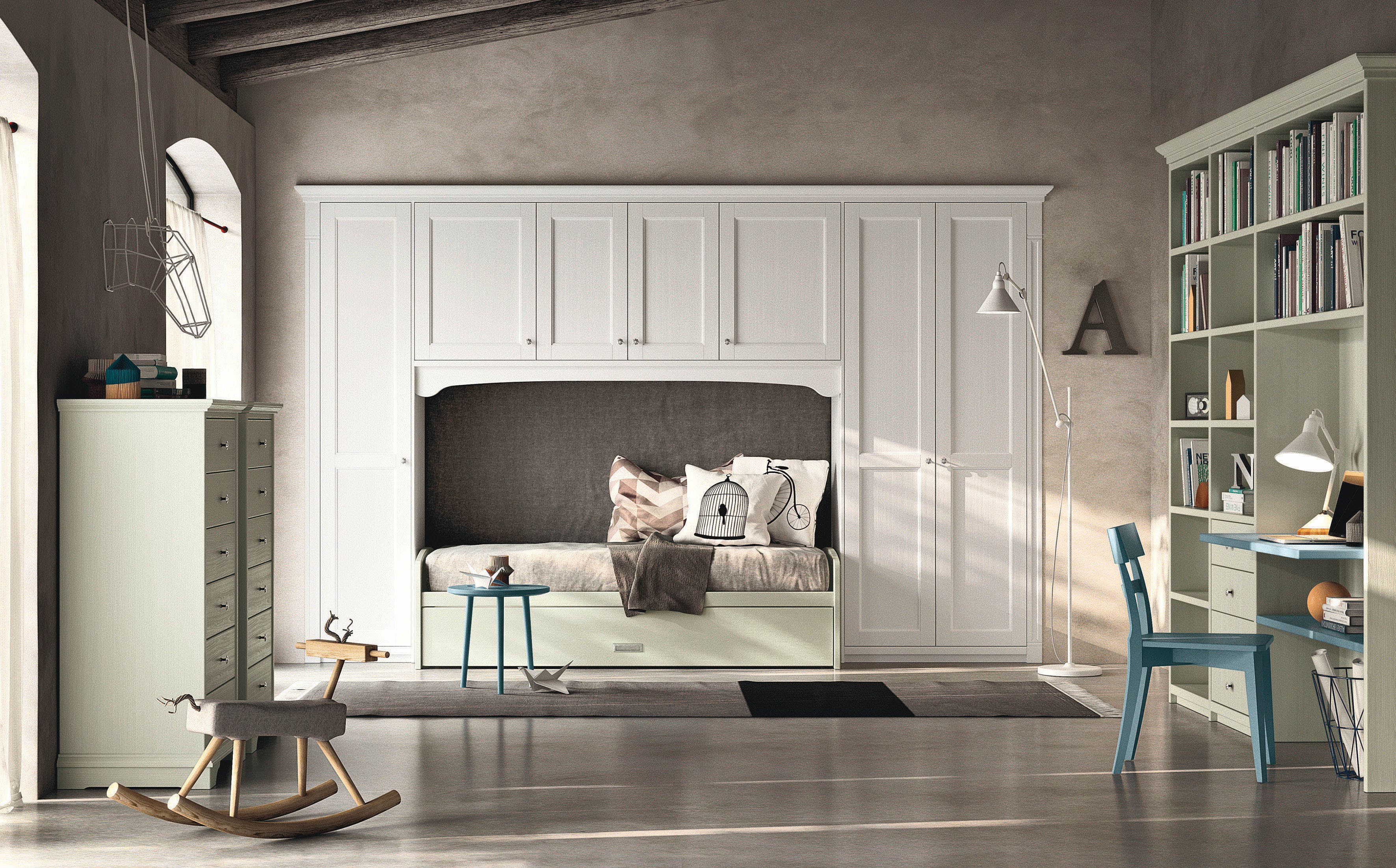 Camerette in stile country (home eng)
