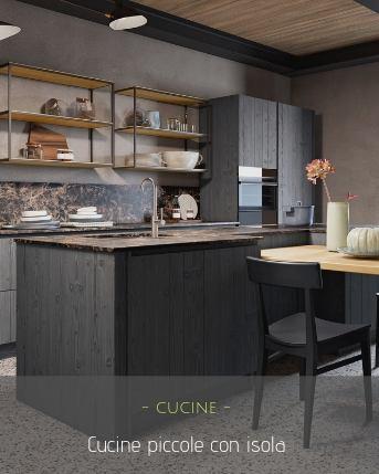 cucine con piccola isola