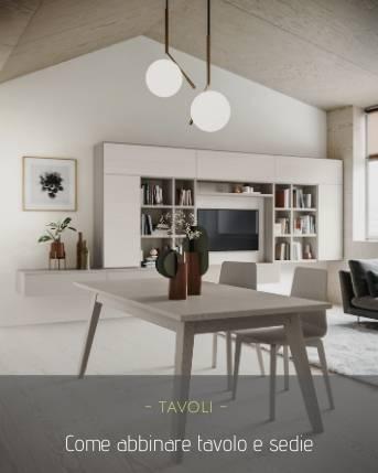 Come abbinare tavolo e sedie