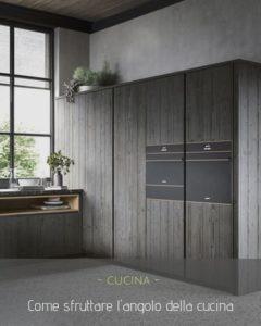 Come sfruttare l'angolo cucina: guadagnare spazio