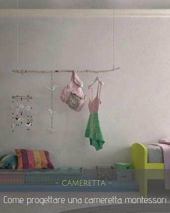 Camerette in stile montessori
