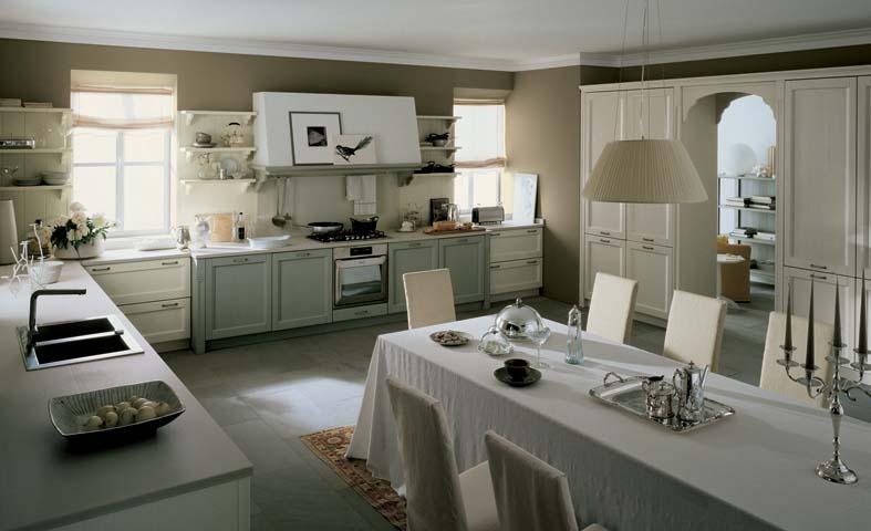 Scegliere colore cucina classica