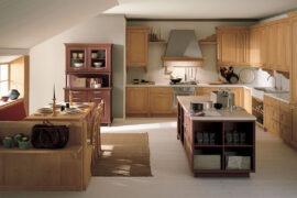 Cucina classica in abete N2
