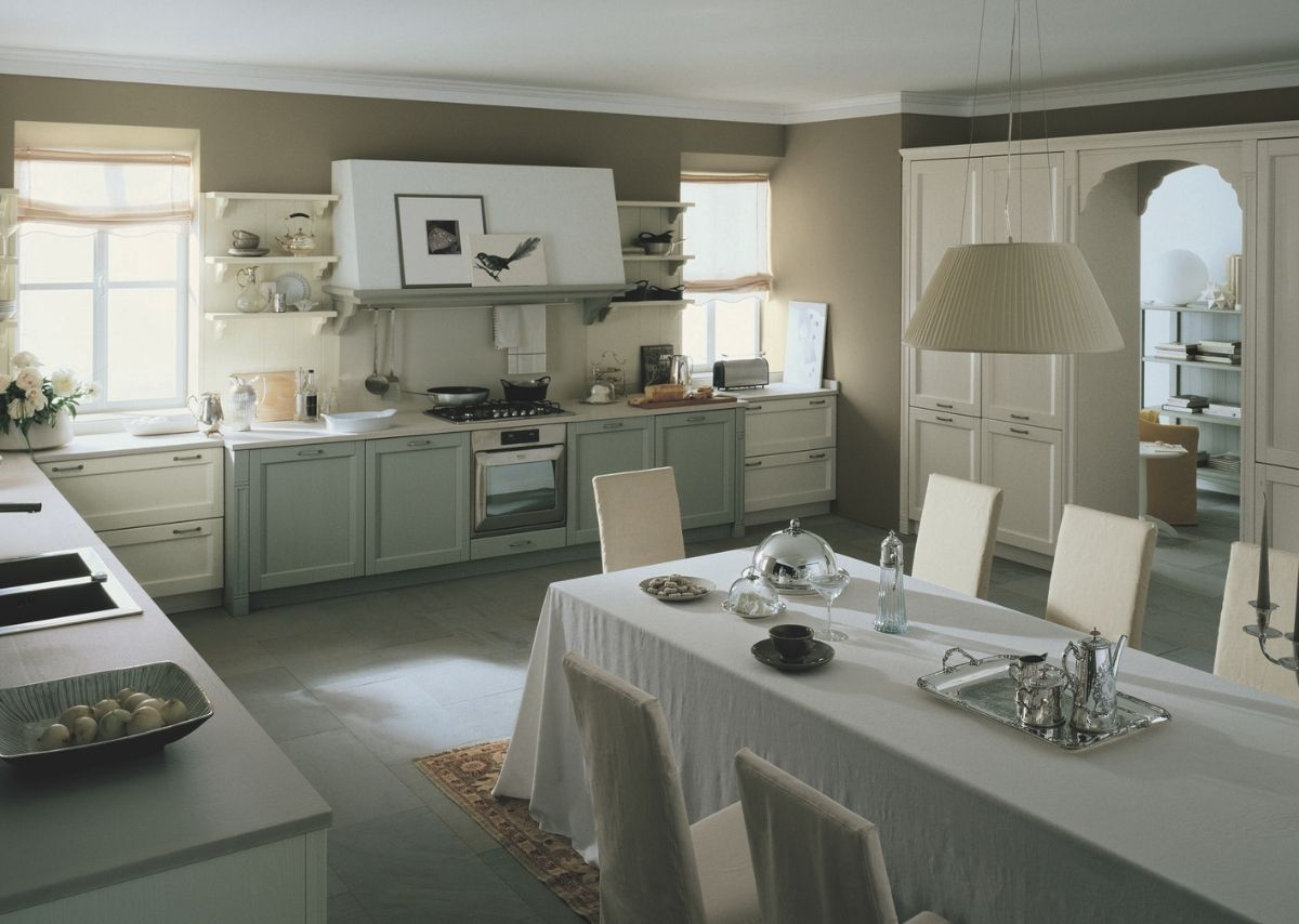 Il verde in cucina