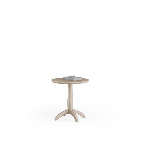 Tavolino rotondo per salotto