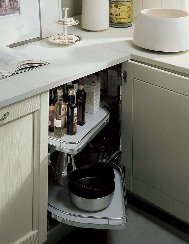 Cestelli estraibili cucine piccole
